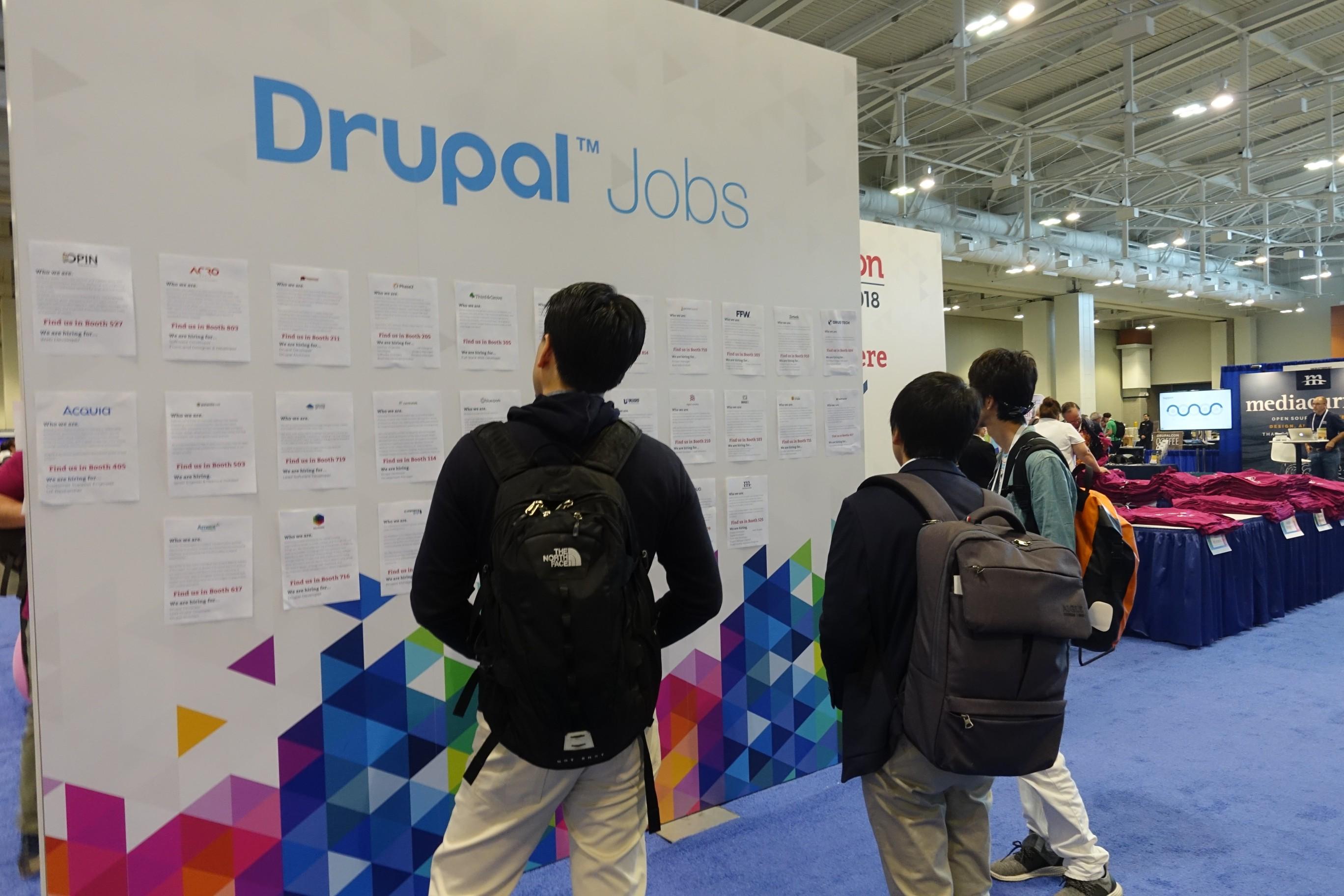 Drupal求人票